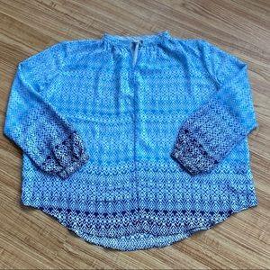 GAP Women's Blue Blouse - NWT